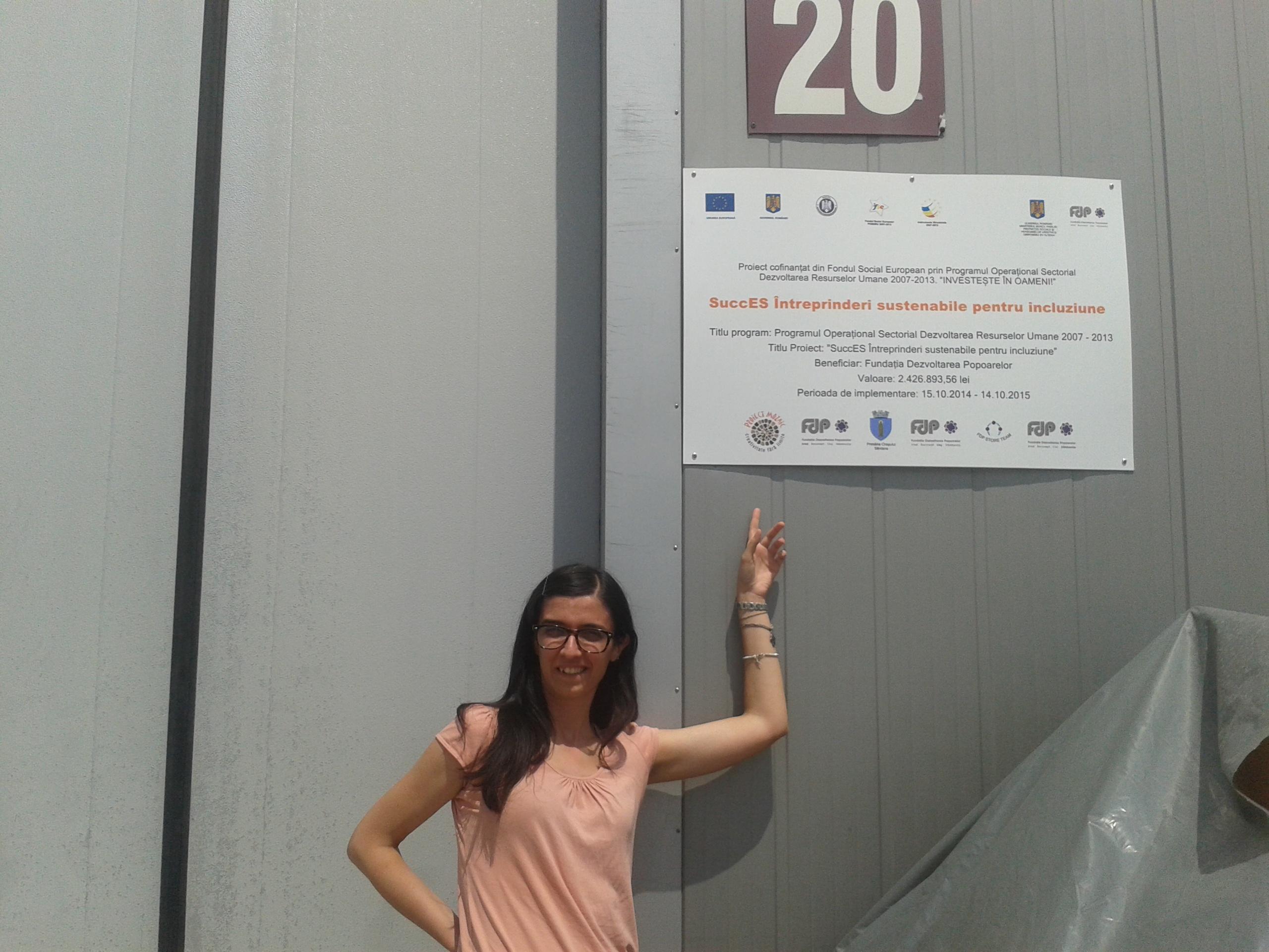 RosaMaria Radogna – EYE at Fundatia Dezvoltarea Popoarelor