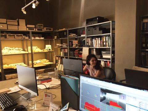I'm settling in – Maria Bruna Pisciotta