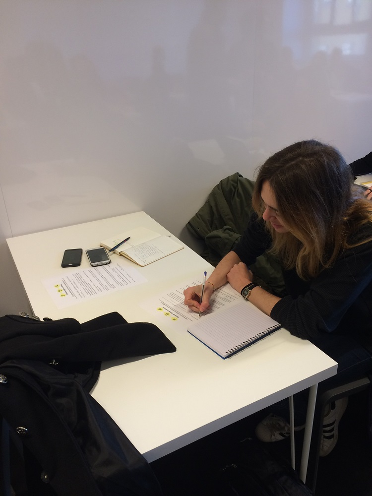 First report of my EYE in Milan – Maria Herrera