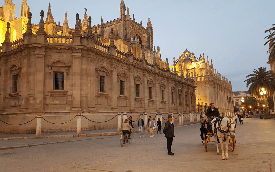 Last Month Of My EYE In Seville – Potito Elia Patano